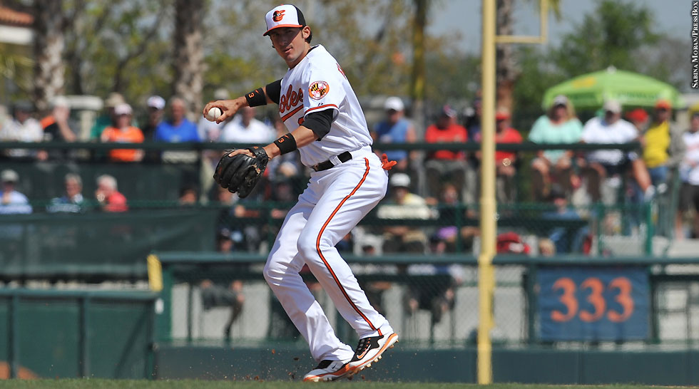 Orioles 2013: Spring Training: Ryan Flaherty