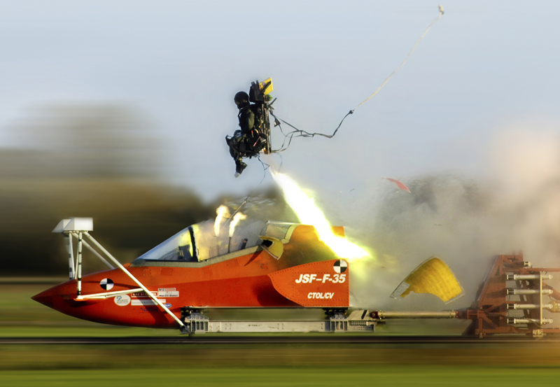 Martin-Baker F-35 Ejection Seat test