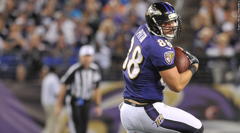 Ravens 2012: Dennis Pitta