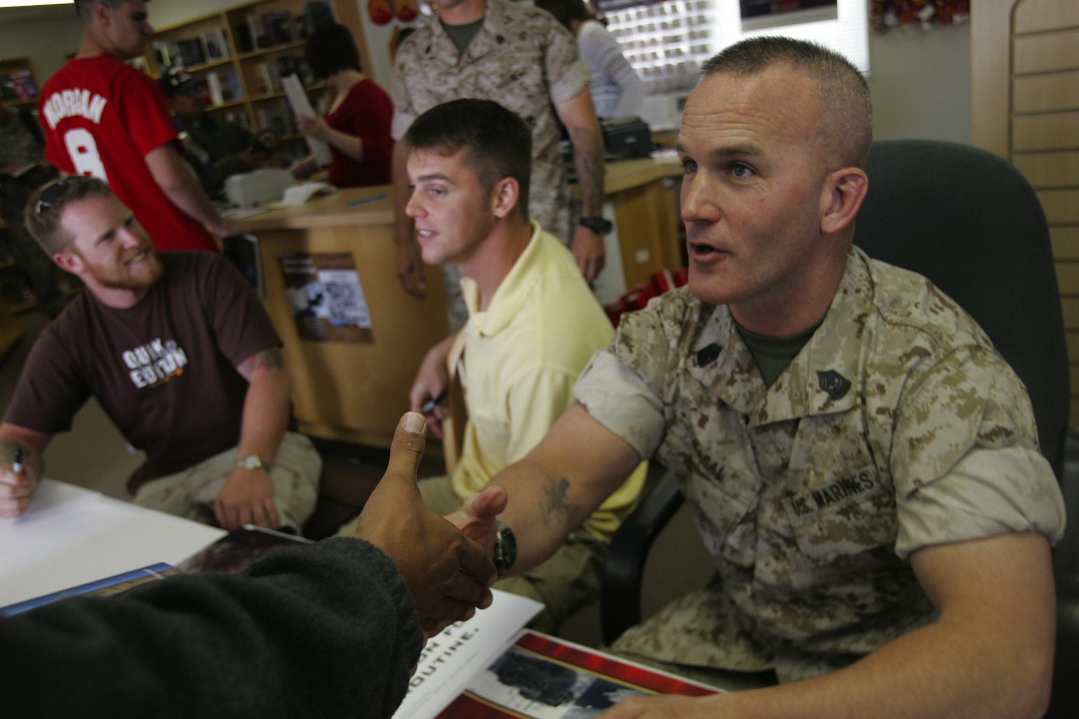Sgt. Maj. Bradley A. Kasal.