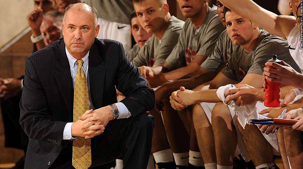 Navy Basketball 2013-14: Coach Ed DeChellis