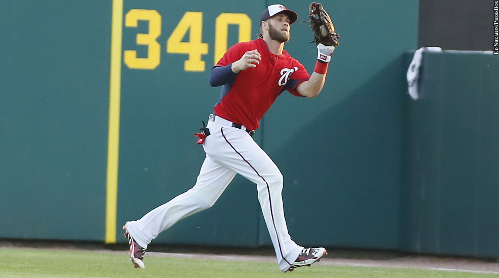 Nationals' Bryce Harper, Wilson Ramos Fall Short In Gold ... Bryce Harper Outfield
