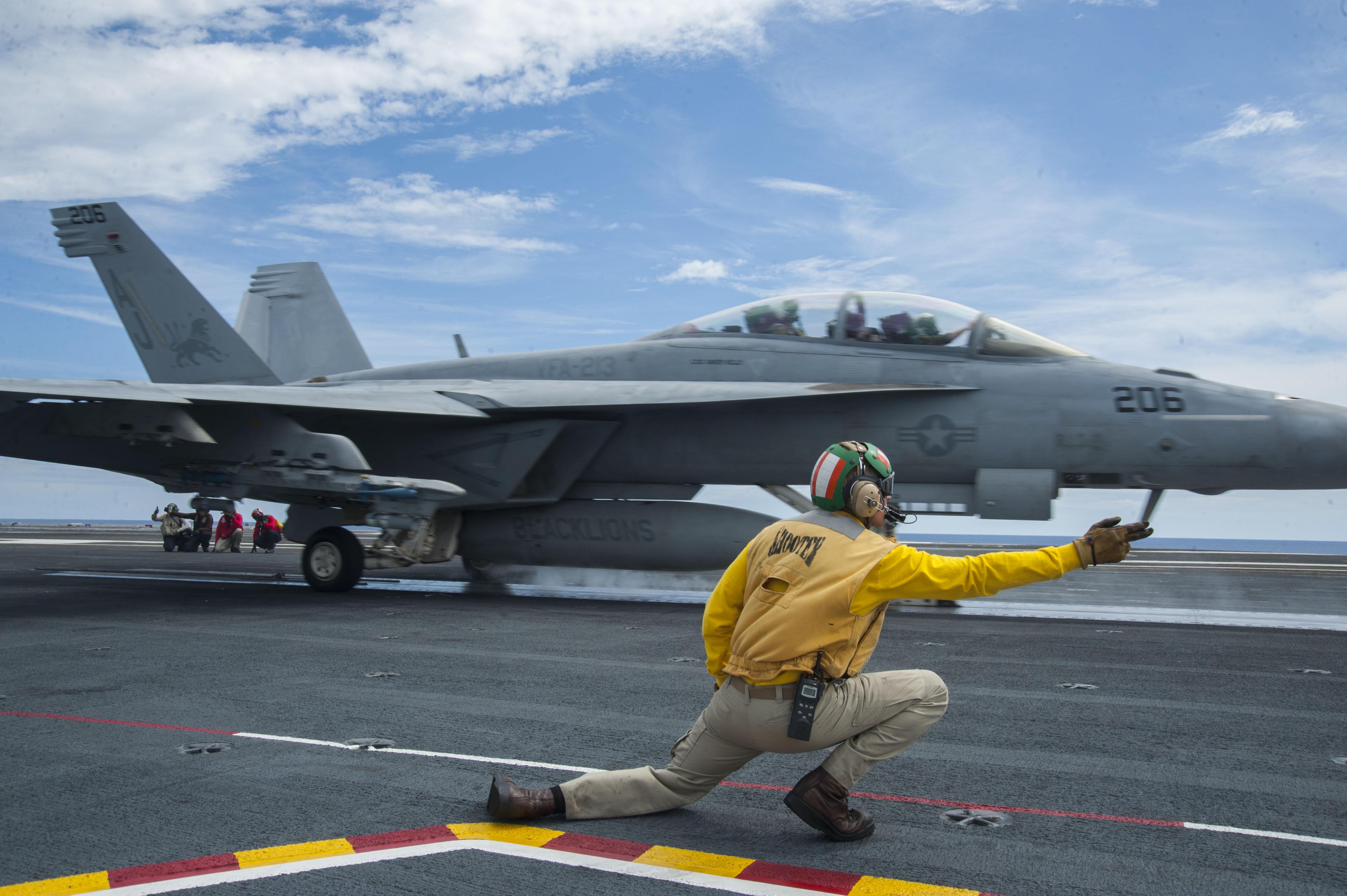 Bush strike group deploying