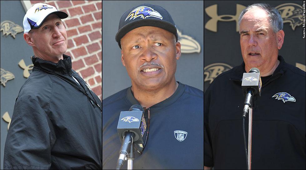 Ravens 2013: Coordinators (Jerry Rosburg, Jim Caldwell, Dean Pees)