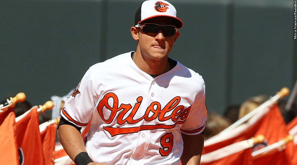 Orioles 2014: David Lough (Opening Day)