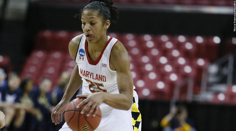 Terps Women's Basketball 2013: Alyssa Thomas (NCAA Tournament)