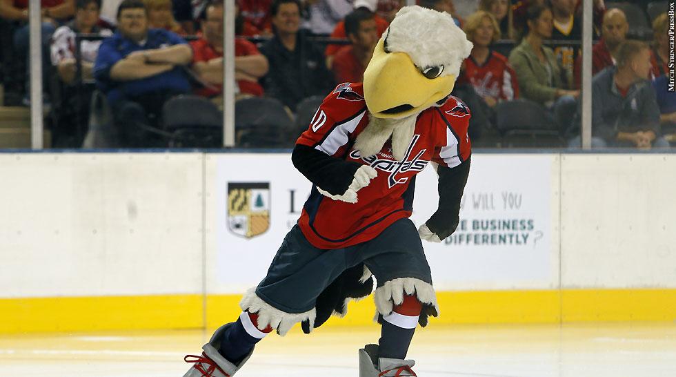 Capitals 2013: Mascot
