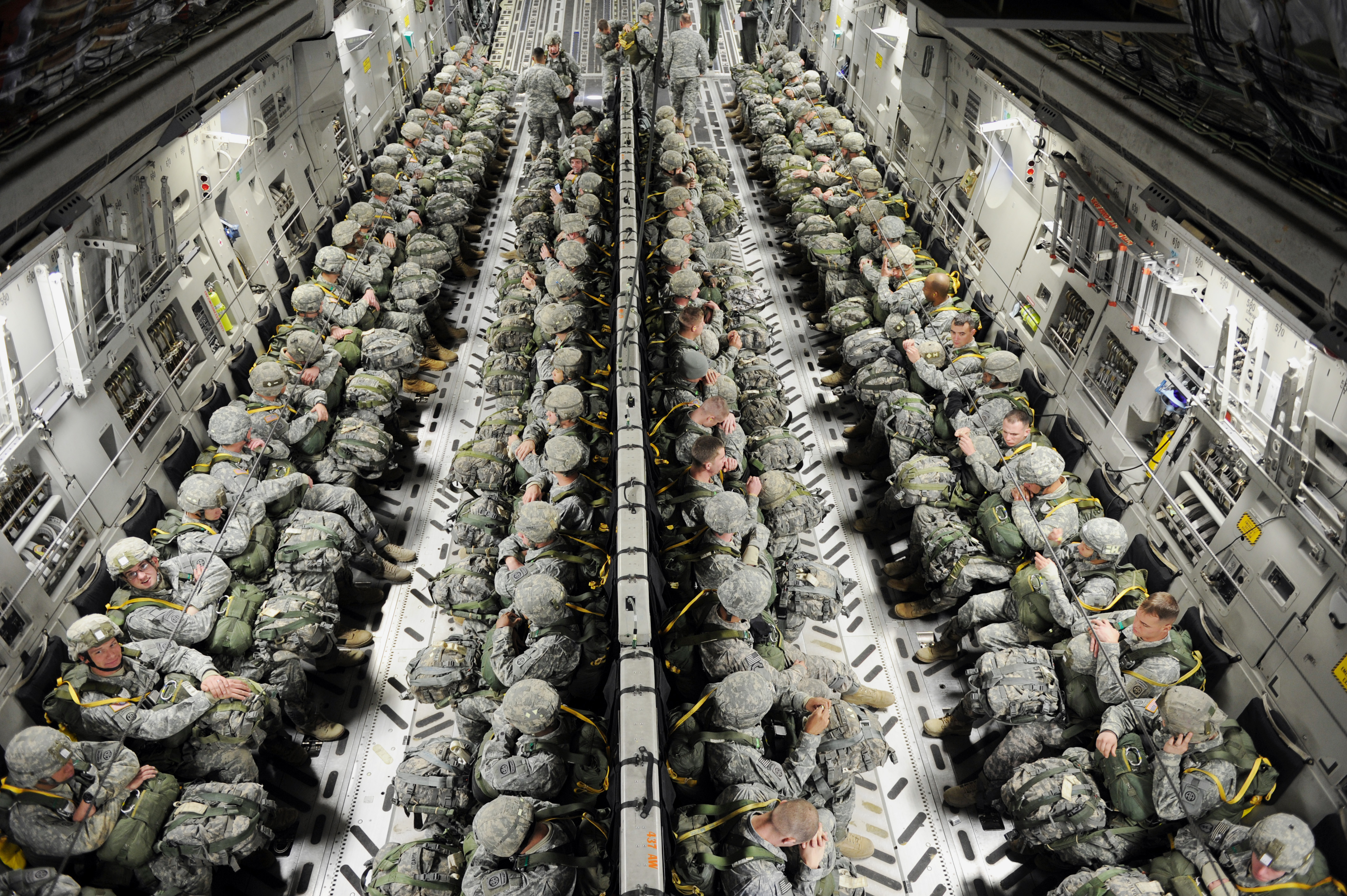 What exactly is military deployment?