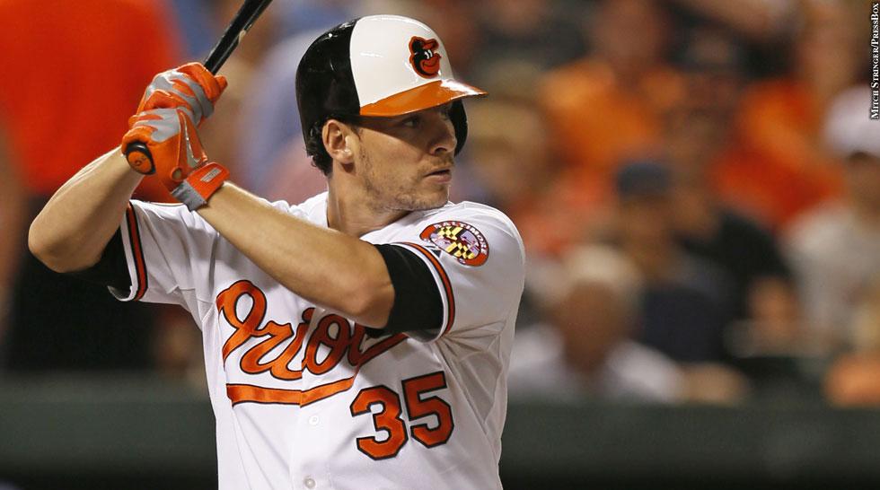 Orioles 2013: Danny Valencia (batting)