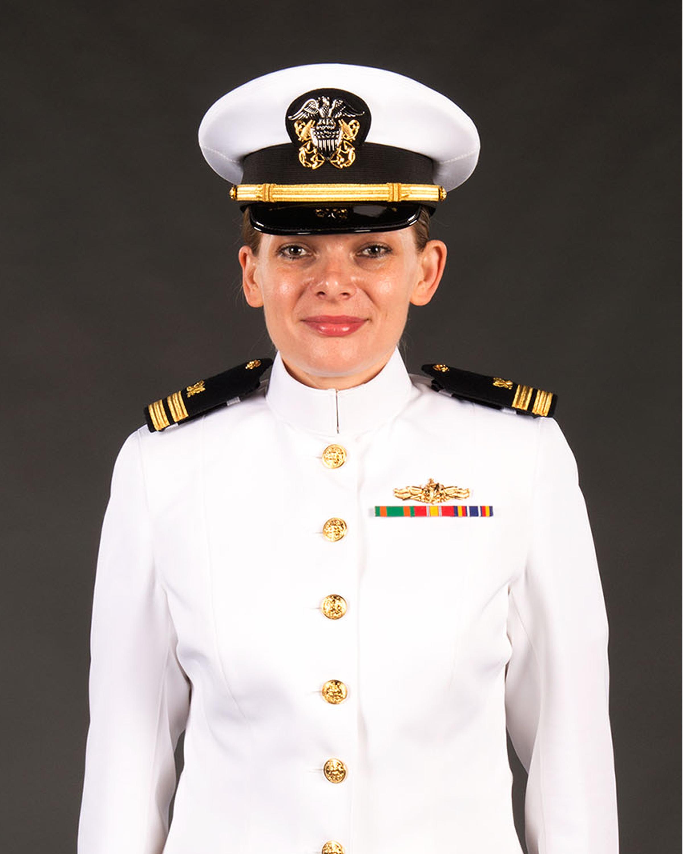 Female officer navy