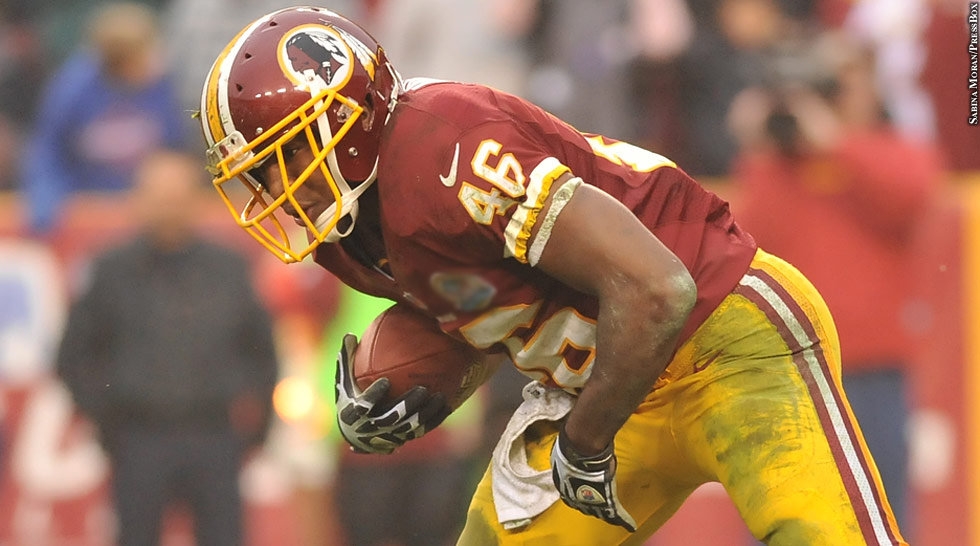 Redskins 2012: Alfred Morris (side)