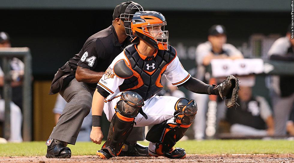 Orioles 2014: Caleb Joseph (catching)