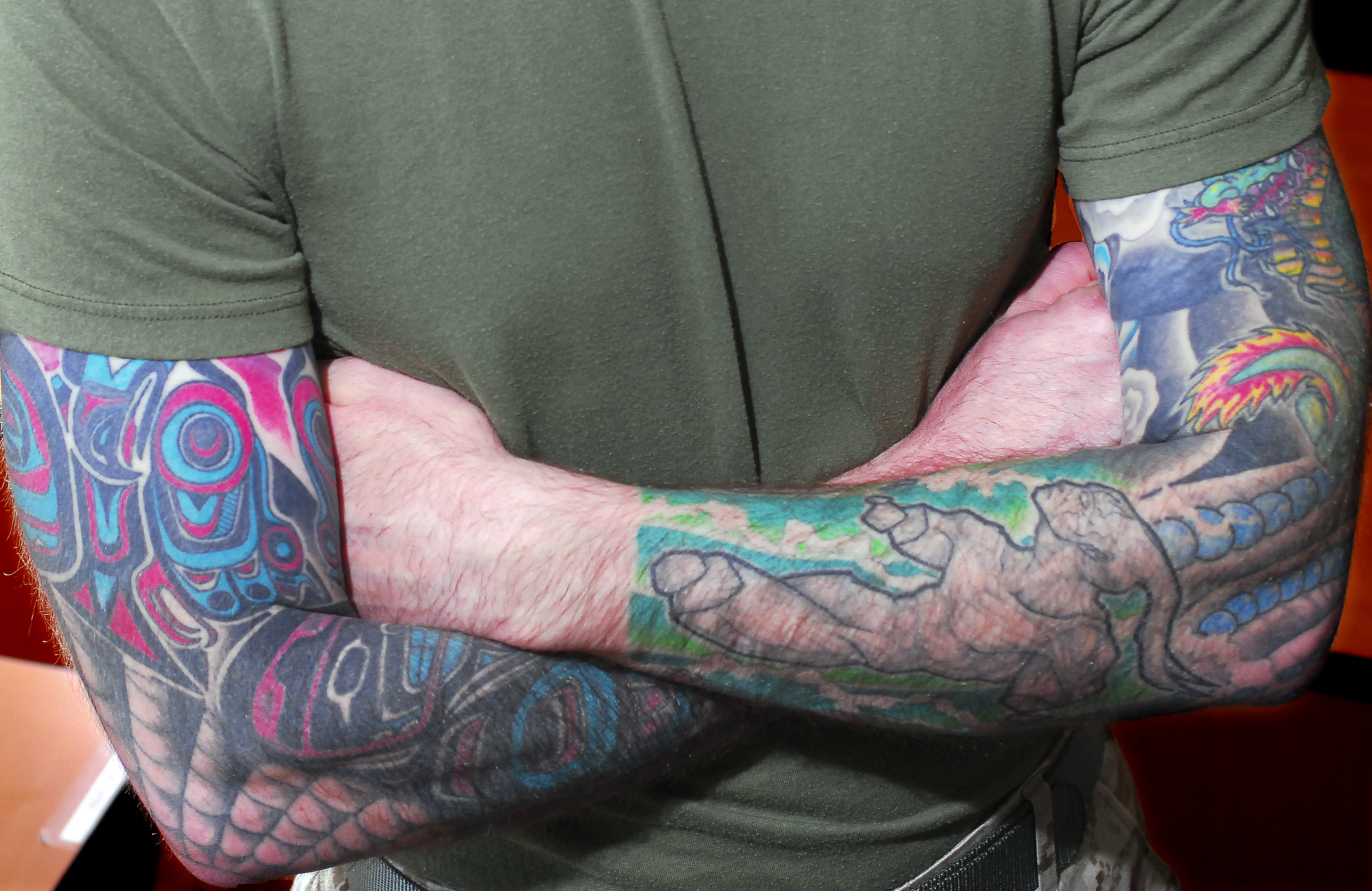 Marines 39 new tattoo policy will be more flexible but won for Marine corp tattoo policy
