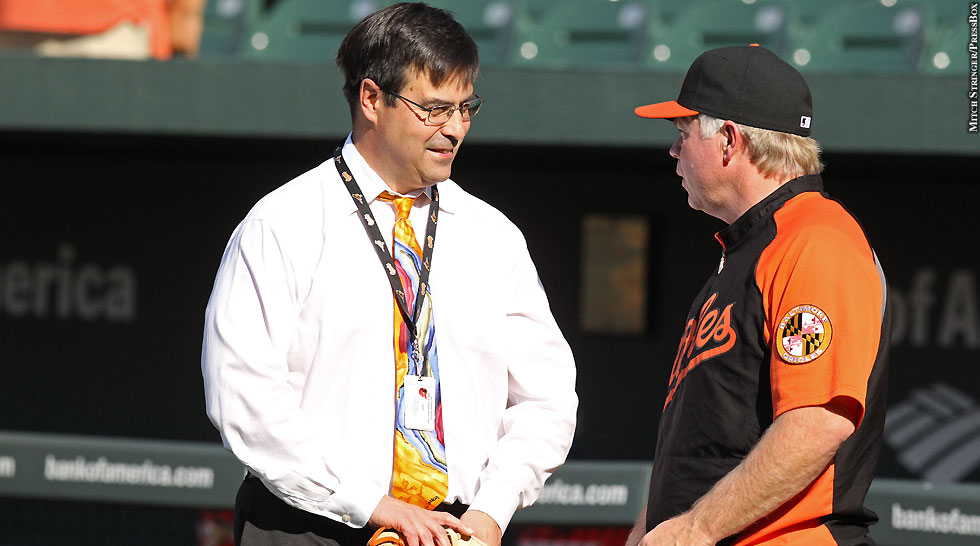Orioles 2012: Dan Duquette and Buck Showalter