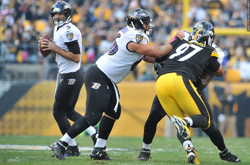 Ravens 2013: Week 7 at Steelers No. 6 (Joe Flacco)