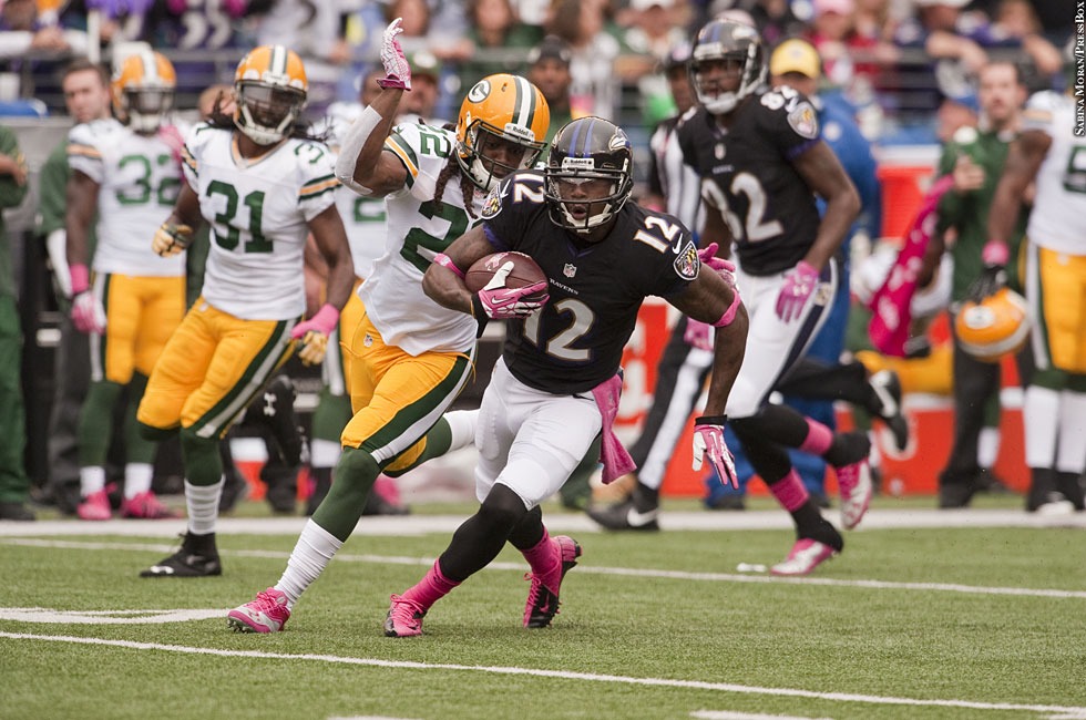 Ravens 2013: Week Six vs. Packers No. 1 (Jacoby Jones)