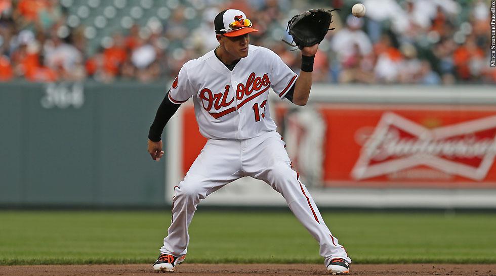 Orioles 2013: Manny Machado (fielding)