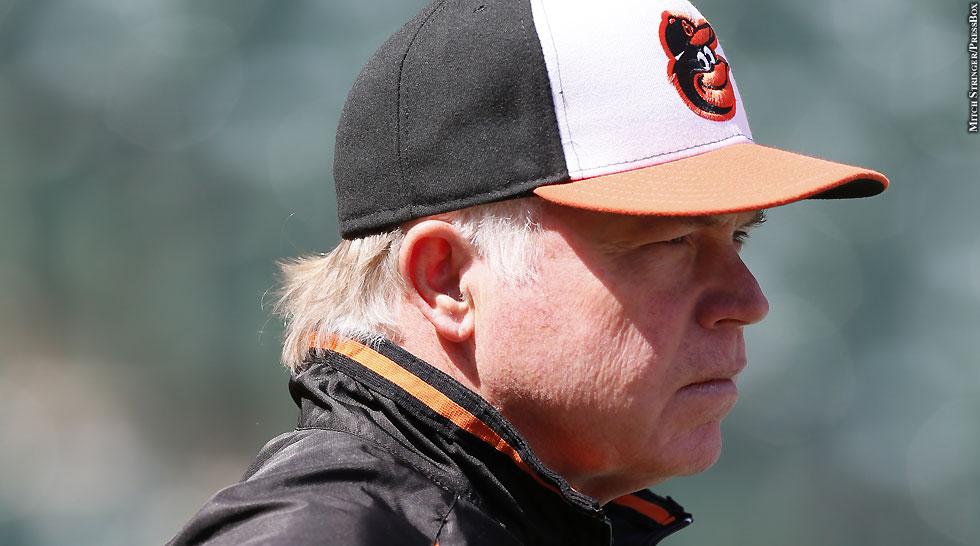Orioles 2013: Buck Showalter (side)