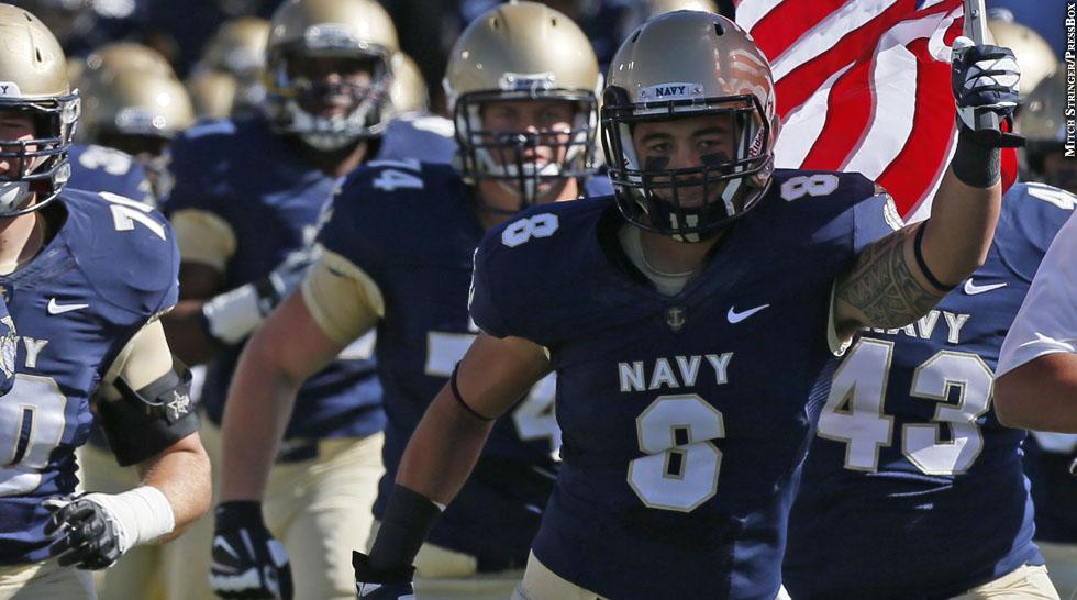 Navy Football 2013: Wave Ryder