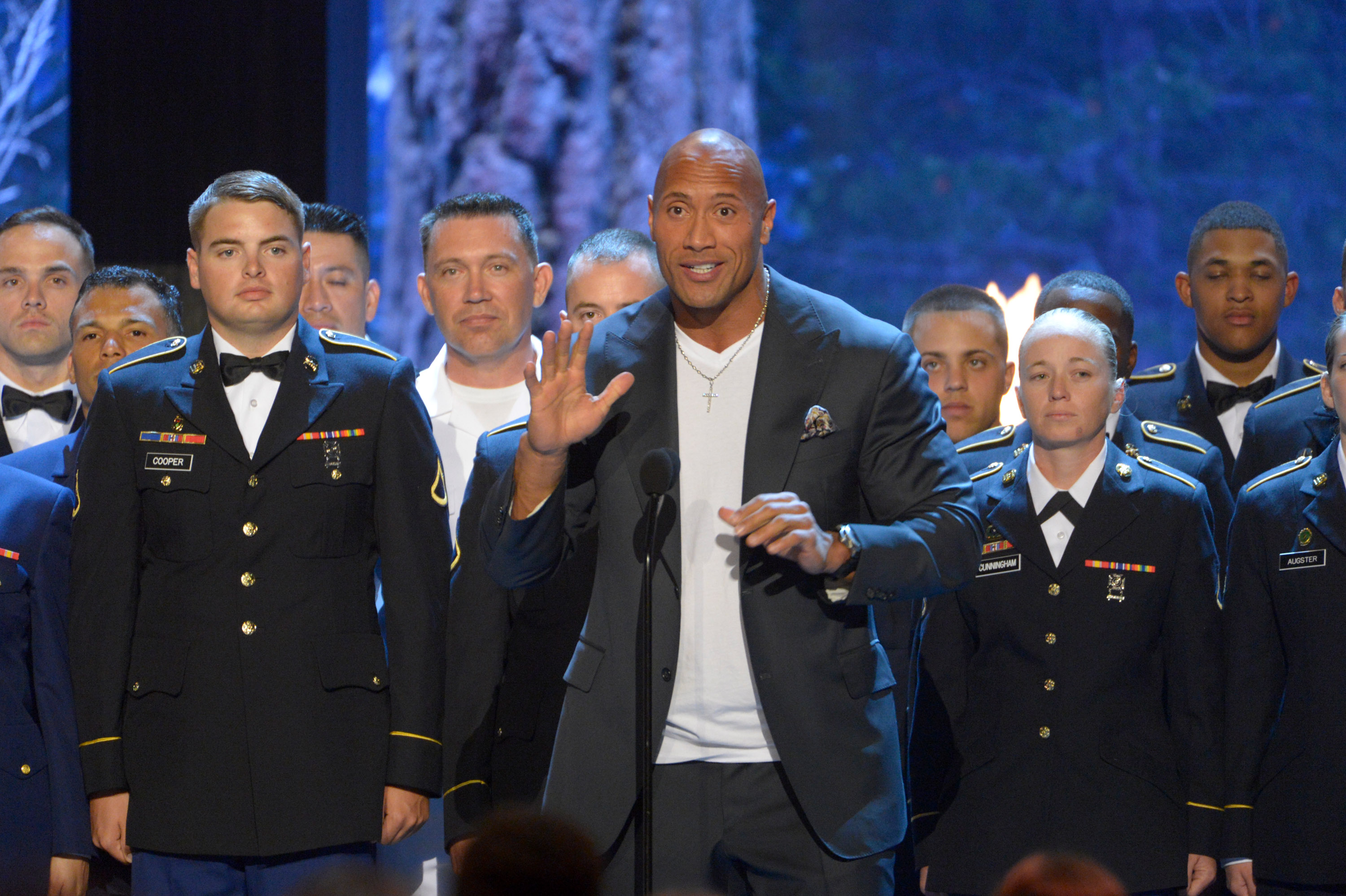 Dwayne Johnson bringing star power to Hawaii for 'Rock the Troops'