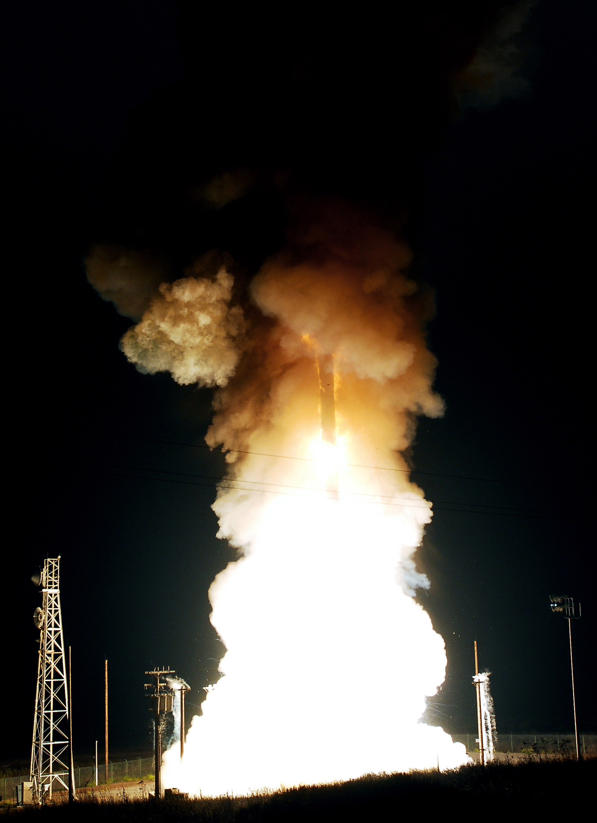 Missile successfully launches from Vandenberg
