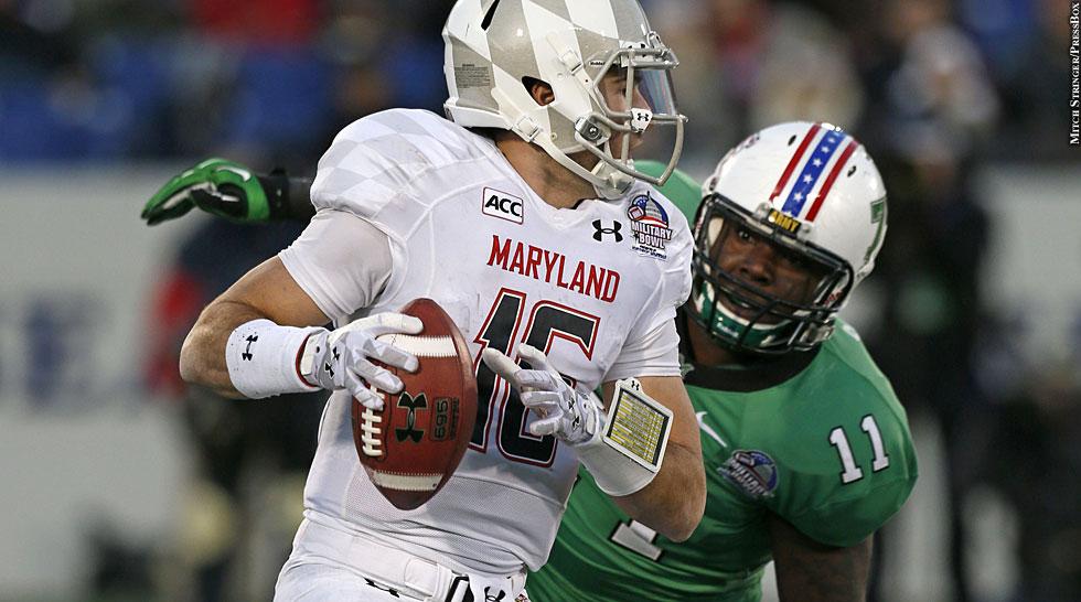 Terps 2013: Military Bowl vs. Marshall