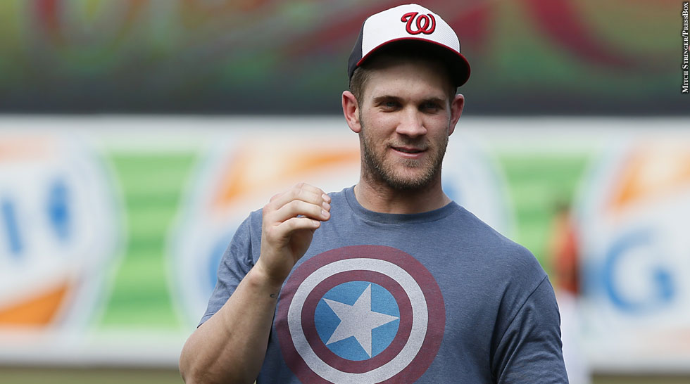 Nationals 2013: Bryce Harper