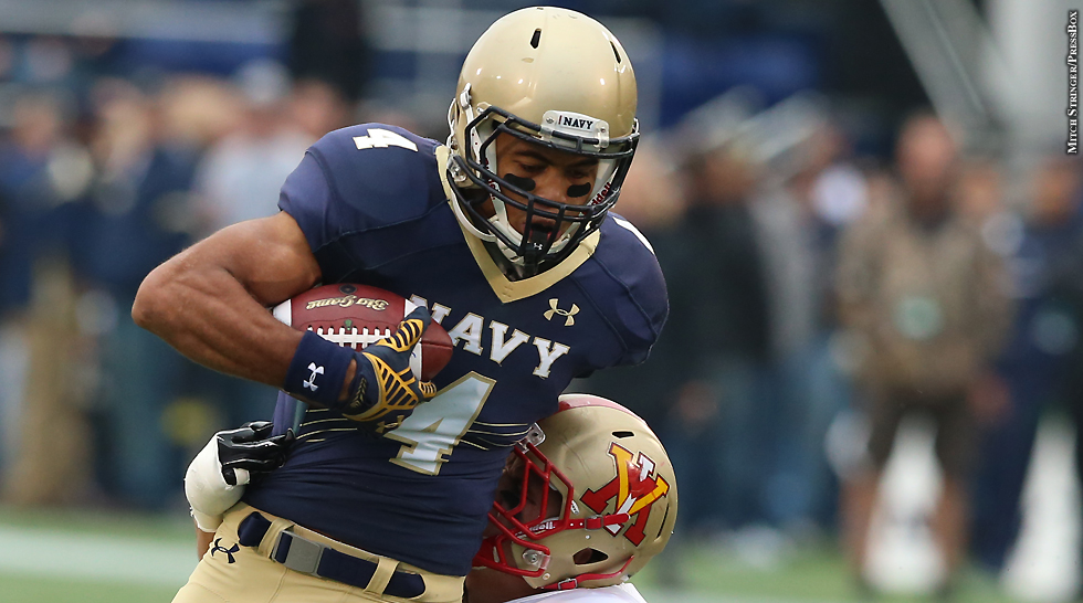 Tillman and Navy enjoy AAC title chase