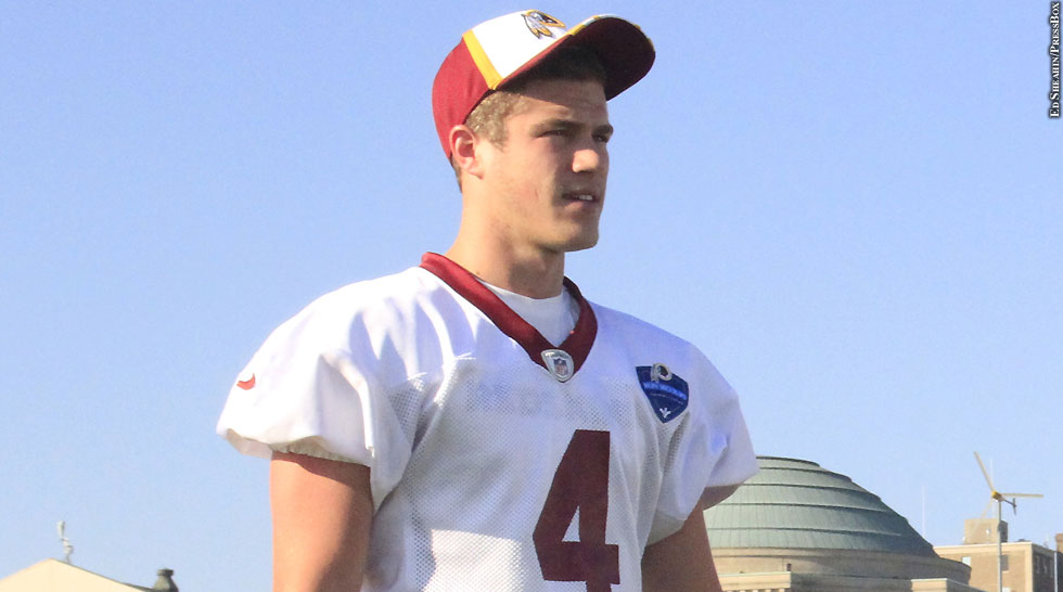 Redskins 2014: Zach Hocker