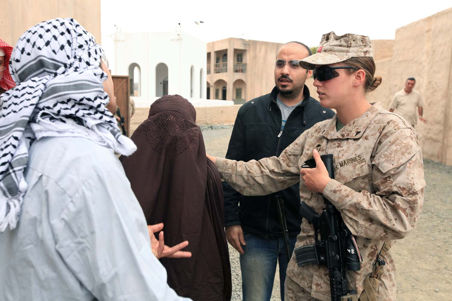 Advisor Training Cell preps female engagement team for Marine Expeditionary Unit employment