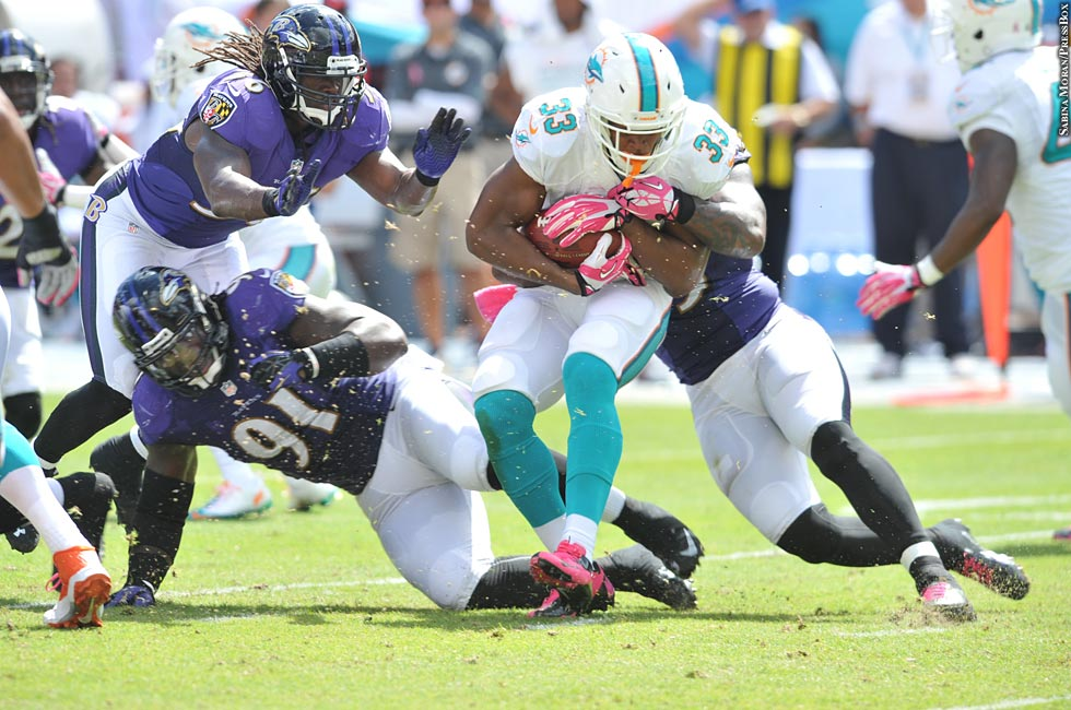 Ravens 2013: Week 5 at Dolphins (Daniel Thomas)