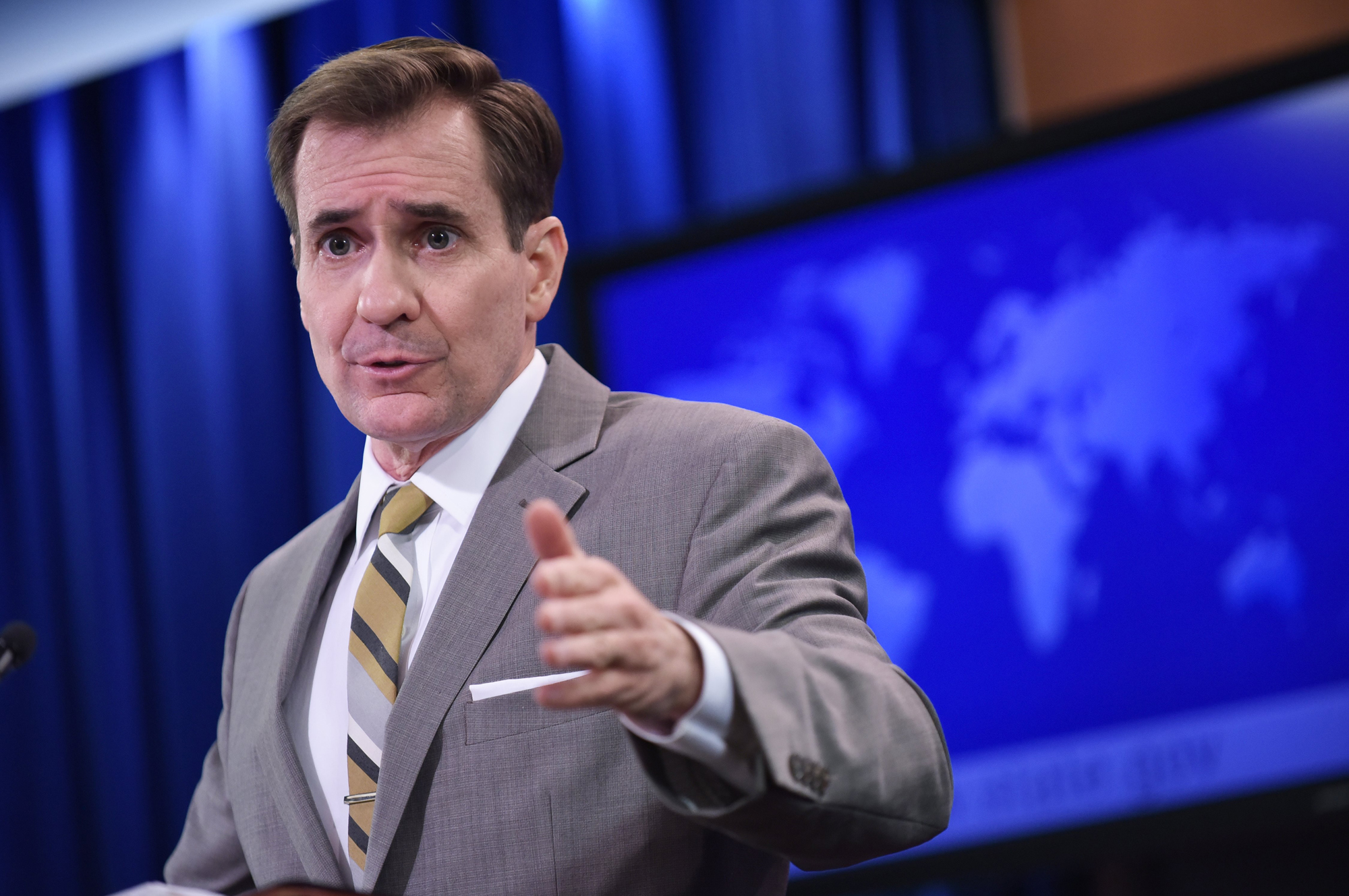 State Department Spokesman John Kirby