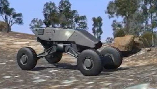 DARPA Ground-X Vehicle