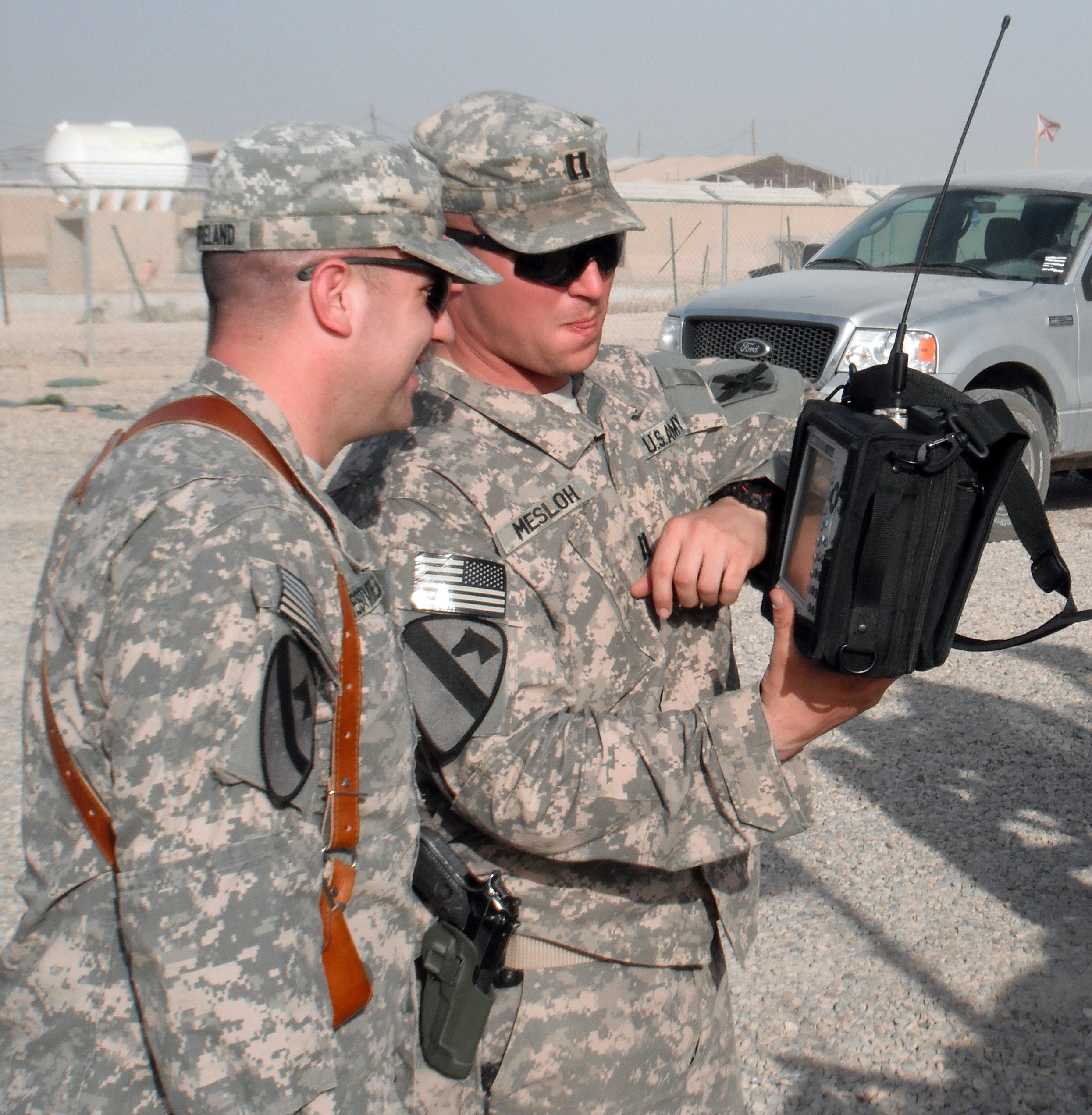 Electronic Warfare Officers fight IED threats
