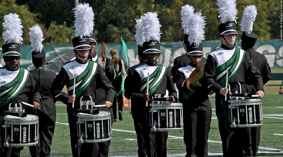 Issue 193: Stevenson Band Drumline
