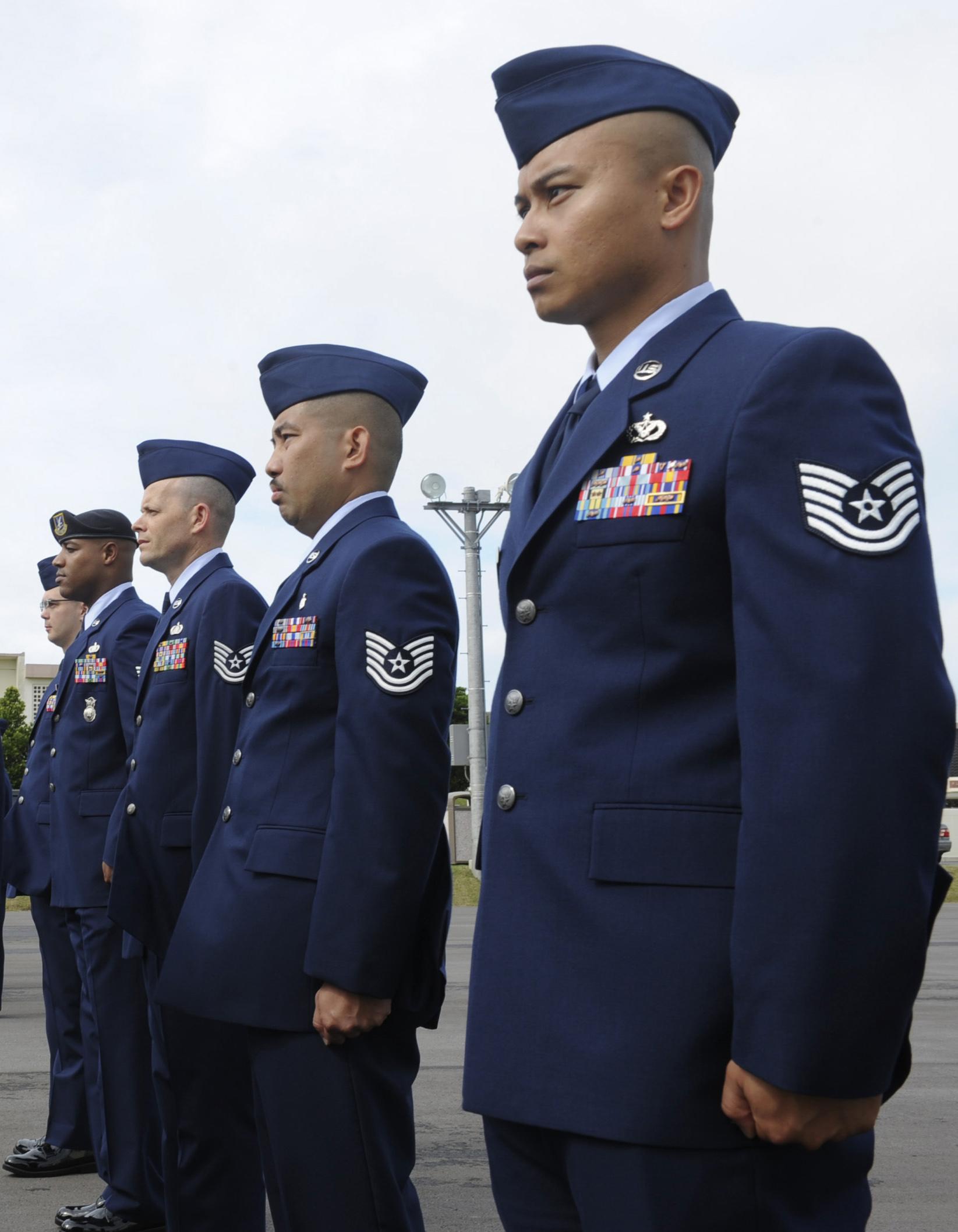 Af Blues Uniform Regulations