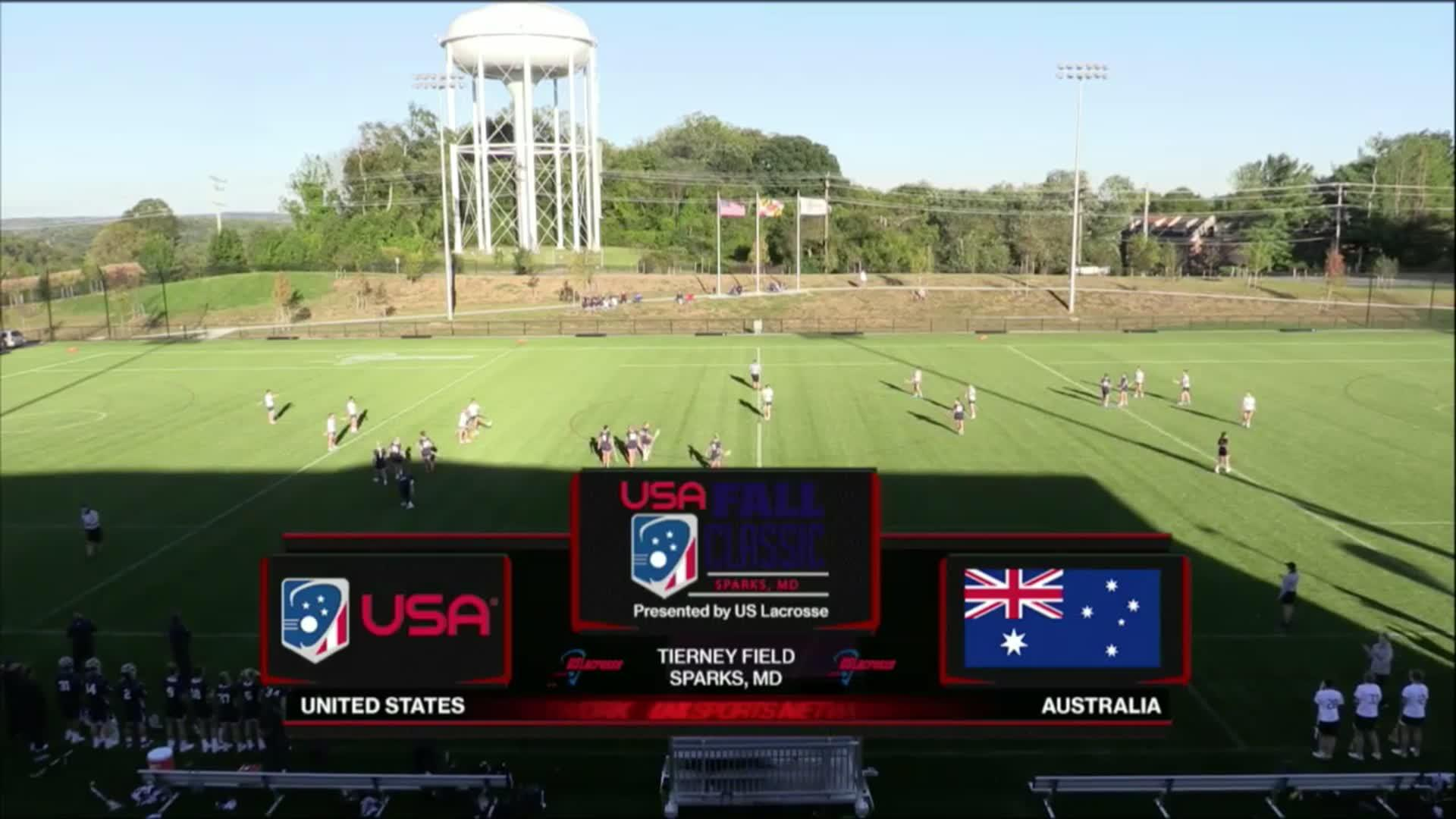 USA Fall Classic: USA vs Australia