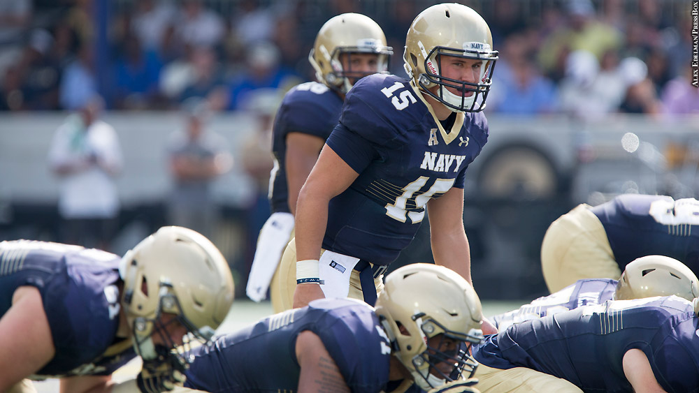 2b53669d9 Navy injuries add twist to Army game