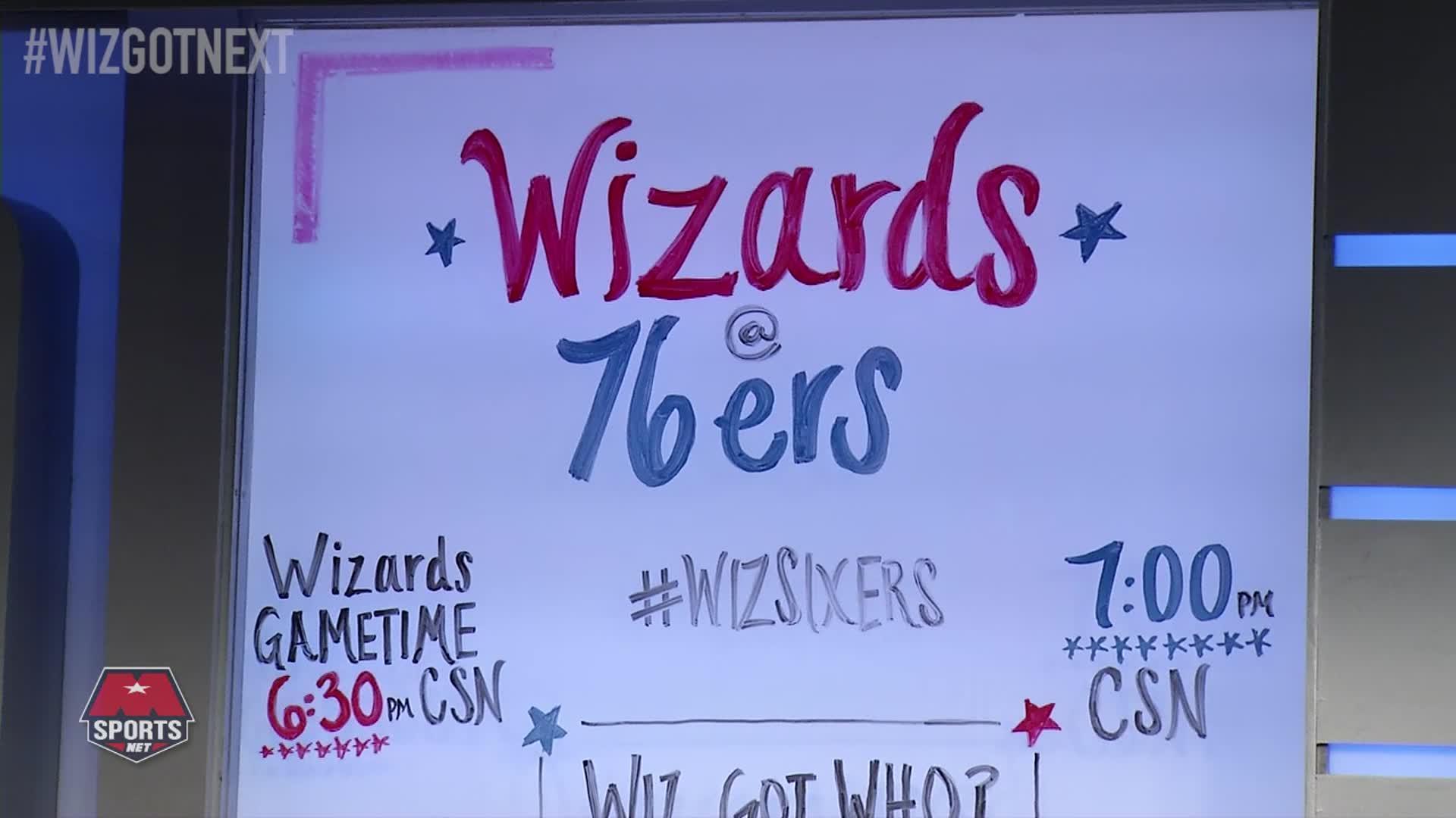 Wiz Got Next Pt 3 - Wiz @ 76ers 11-16-16