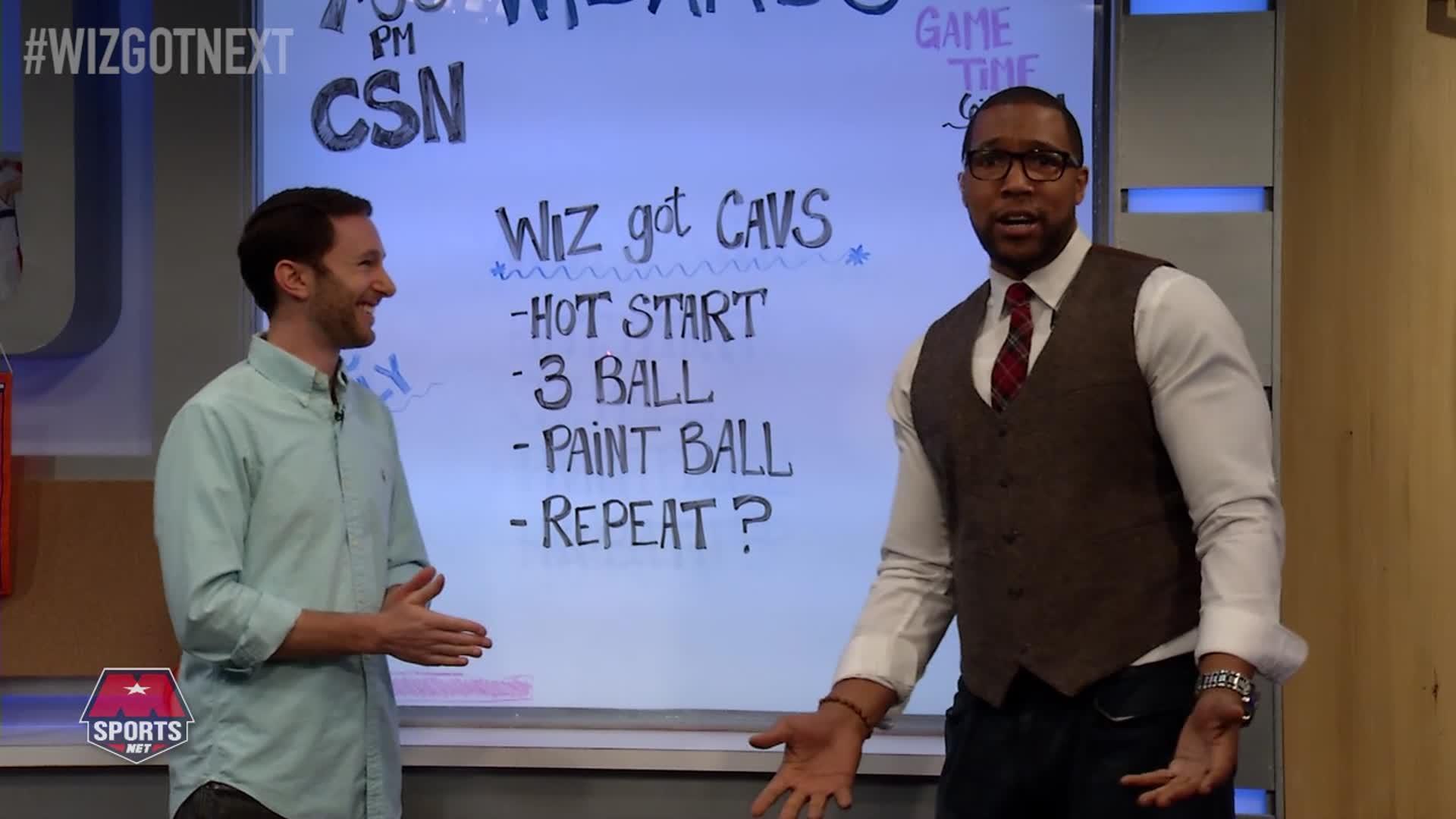 Wiz Got Next - Wiz vs Cavs 11-11-16 Pt 1