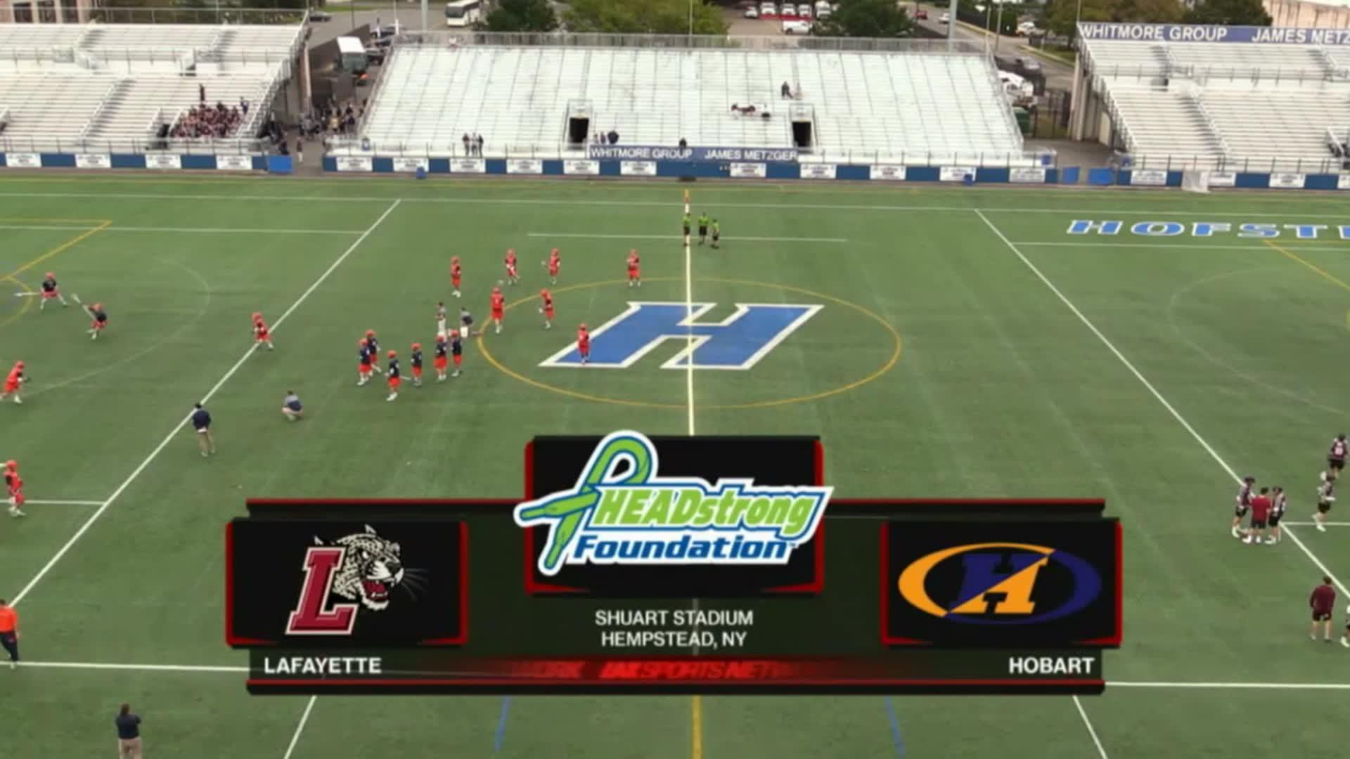 Headstrong Classic 10/8/16: Lafayette vs Hobart