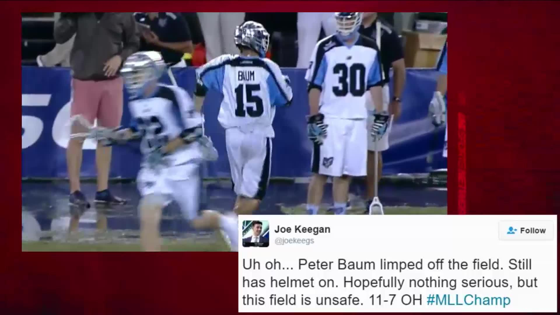 Social Media Reactions to the MLL Championship