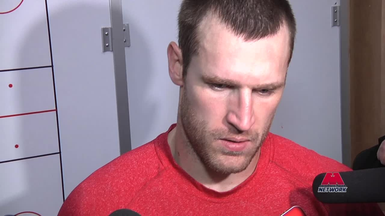 Brooks Laich Postgame 1/2/14