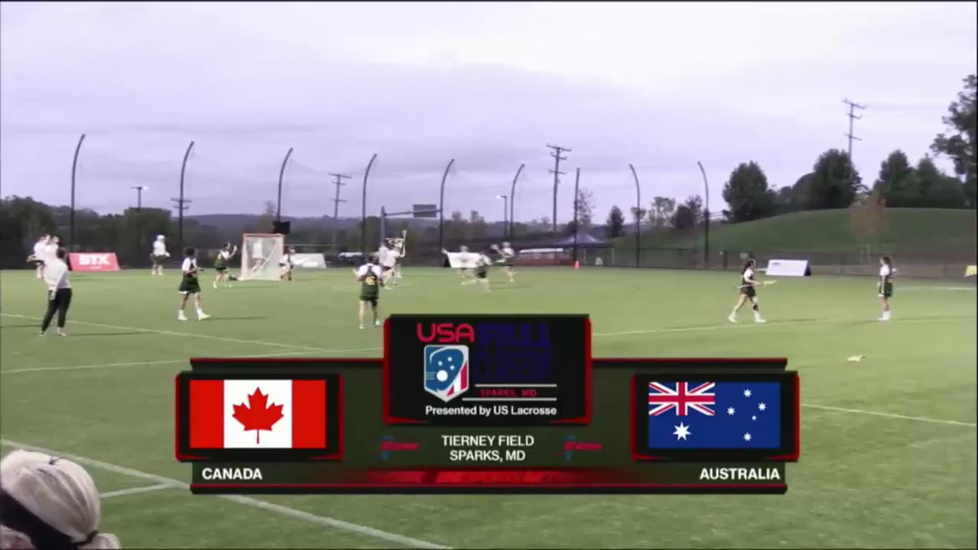 USA Fall Classic: Canada vs Australia