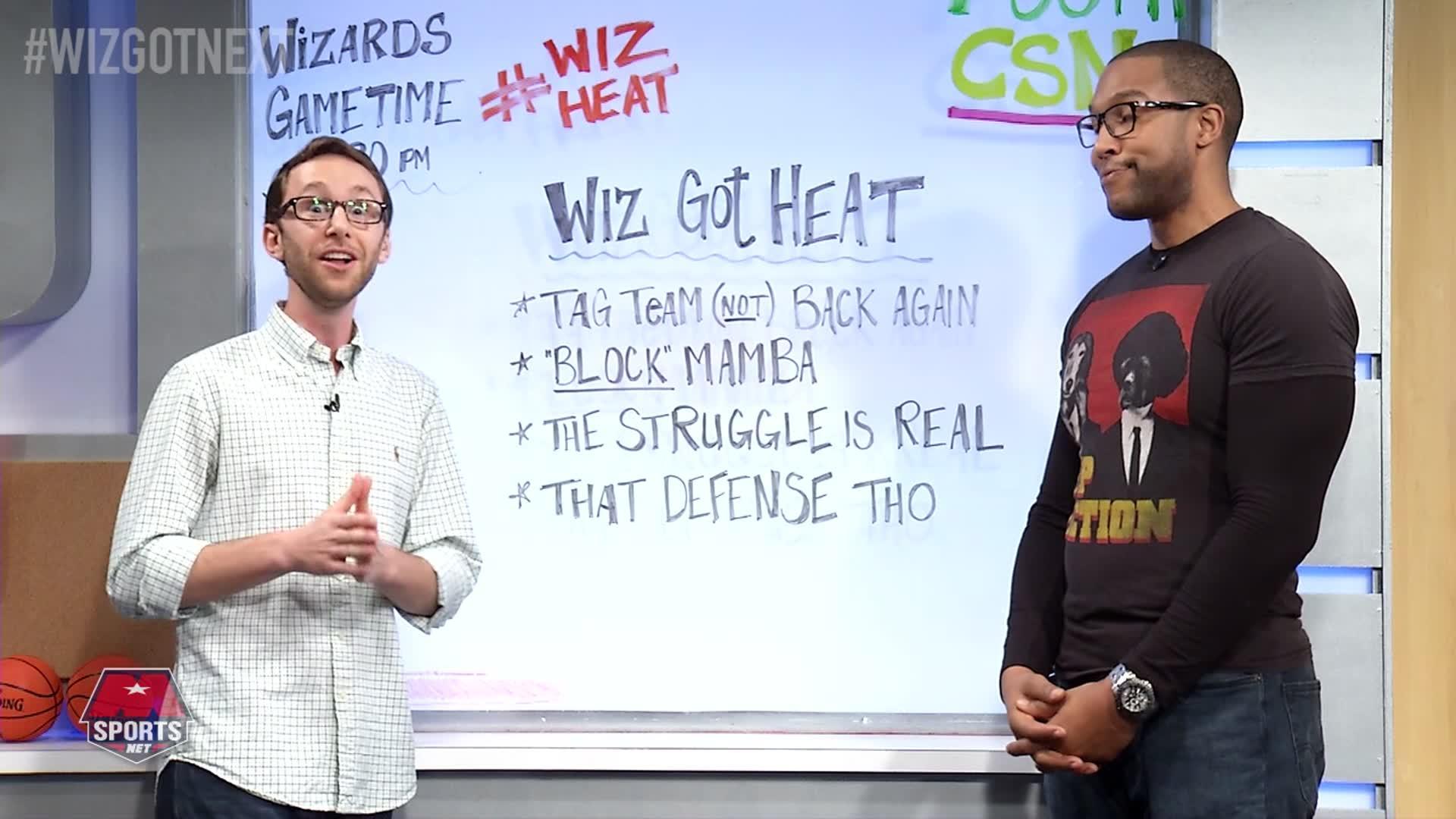Wiz Got Next Pt 1 - Wiz vs Heat 11-19-16