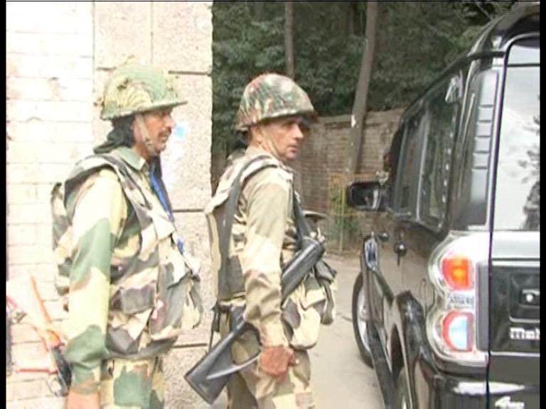 Image of घाटी में फिर तैनात हुई बीएसएफ