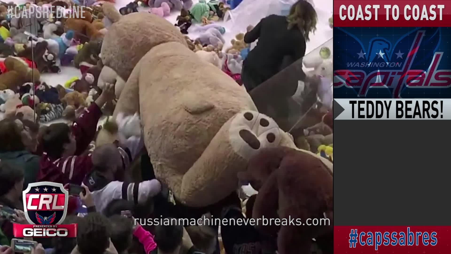 Caps Red Line: Caps vs Buffalo Pt 3 12-5-16