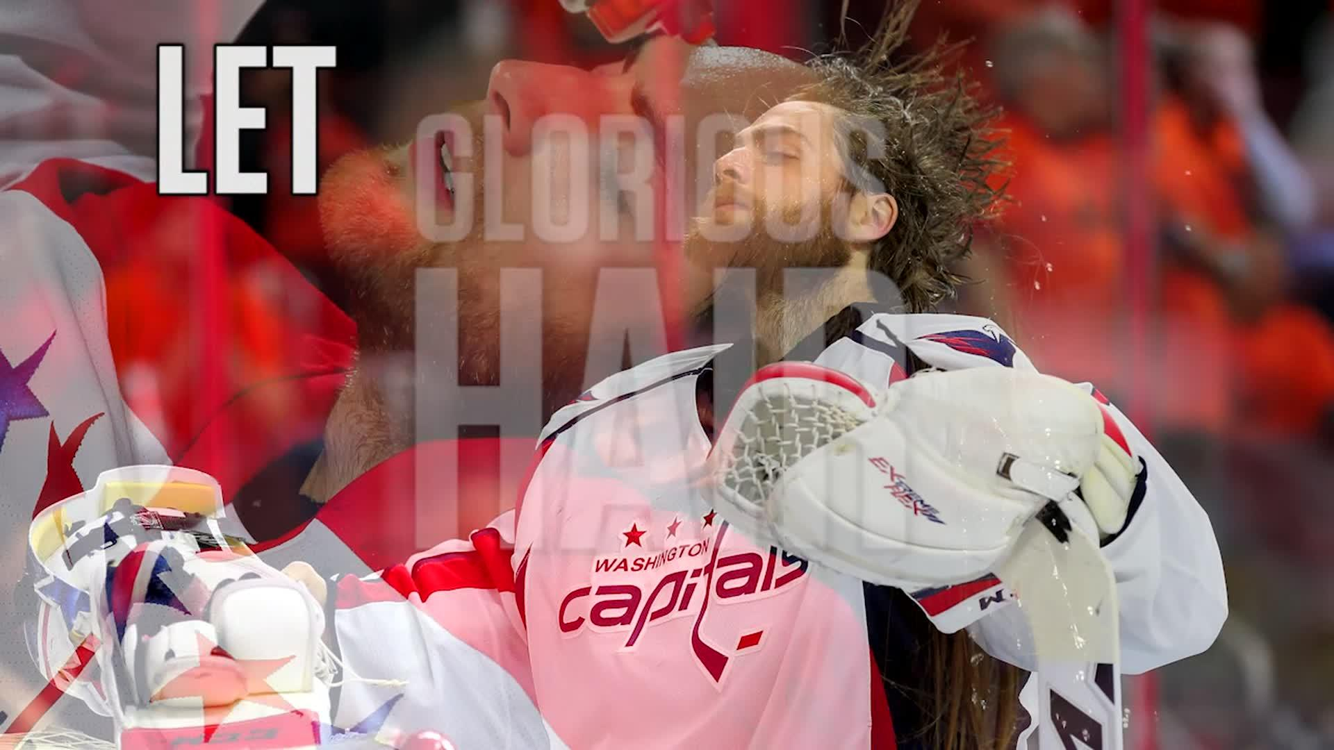 Top 1: Braden Holtby Hair Flip