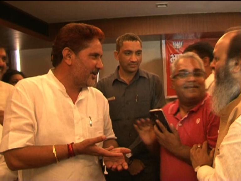 Image of हंगामे की भेंट चढ़ी बीजेपी प्रदेशाध्यक्ष बराला की प्रेस कॉन्फ्रेंस
