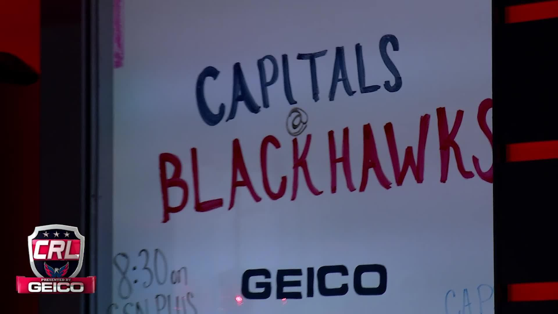 Caps Red Line Pt 1 - Caps @ Blackhawks 11-11-16